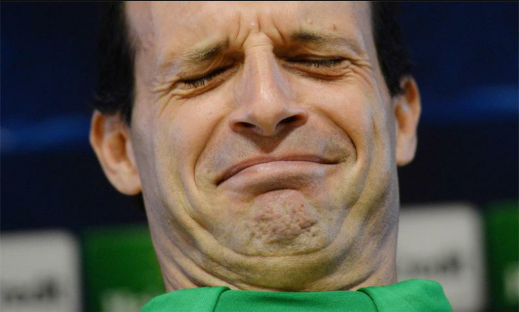 Massimiliano Allegri allenatore della Juventus