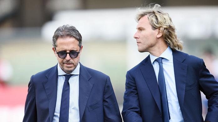 Fabio Paratici e Pavel Nedved